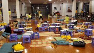 Class room Sivananda Yoga Resort and Training Center, Dalat, Vietnam