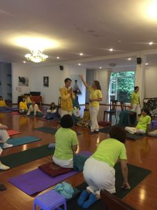 Yoga for chronic pain - SYHET Course Vietnam 2018
