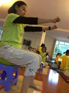 Yoga for your joints - SYHET Course Vietnam 2018
