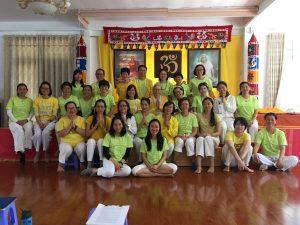 Yogatherapie Ausbildung 2018 in Dalat, Vietnam 2018
